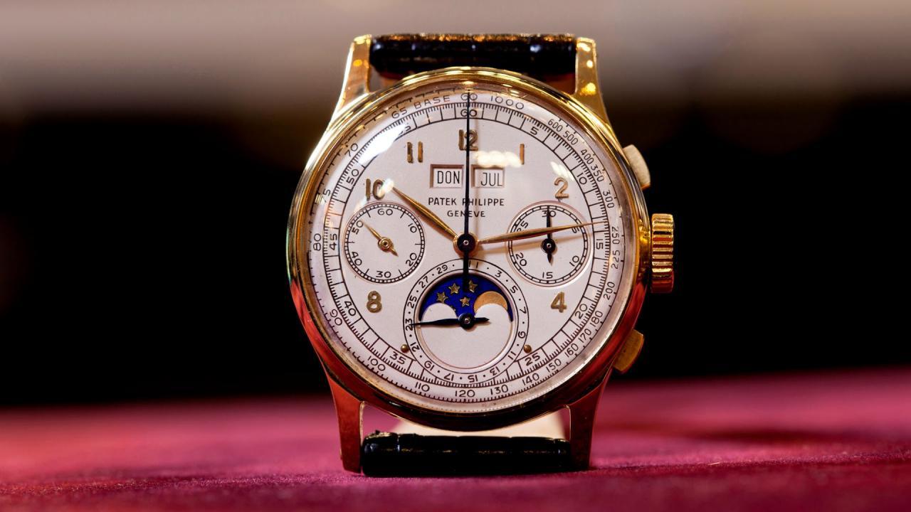 百达翡丽5270P手表